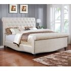 Upholstered Sleigh Bed Size: Queen