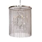 Cascata I 5-Light Candle Style Chandelier Finish: Nickel Plated