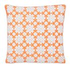 Thread Work Throw Pillow