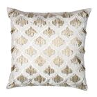 Morroccan Trellis with Hanging Beads Pillow Cover