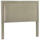 Hayley Upholstered Panel Headboard Size: King, Upholstery: Urban Graphite