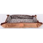 Faux Lamb Fur Magic Dog Bed Color: Brown