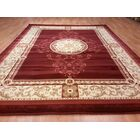 Red Area Rug Rug Size: Rectangle 7'11