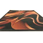 Black/Brown Area Rug Rug Size: Runner 2' x 7'2