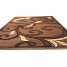 Brown Area Rug Rug Size: Rectangle 7'11
