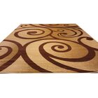 Beige / Brown Area Rug Rug Size: Rectangle 10' x 13'