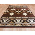 Brown Area Rug Size: 7'11