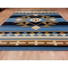 Blue Area Rug Size: Rectangle 7'11