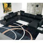 Black Area Rug Rug Size: 4' x 6'