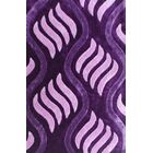 Obed Purple Area Rug Rug Size: 7'11