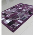 Purple Area Rug Rug Size: Runner 2' x 7'2