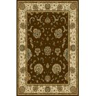 Florentin Dark Brown Area Rug Rug Size: 7'11