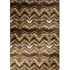 Geren Brown Area Rug Rug Size: 5'3