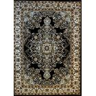 Ackerman Black Area Rug Rug Size: Runner 2'7