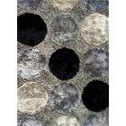 Circe Black Area Rug Rug Size: 7' x 10'