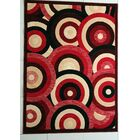 Adarsh Red Area Rug Rug Size: 7'11