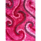Pavithra Pink Area Rug Rug Size: 5'3