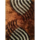 Huy Brown Area Rug Rug Size: 7' x 10'