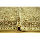 Harloe Traditional Yellow/Brown Area Rug Rug Size: 5'3
