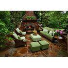 Panama 6 Piece Sunbrella Sofa Set with Cushions