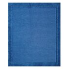Oxford Hand-Woven Blue Area Rug Rug Size: 5' x 7'