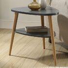 Ulrey Wood End Table Color: Gray