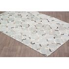 Keyla Viscose Hand Tufted Silver/Gray Area Rug Rug Size: Rectangle 5' x 8'