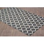 Hadlee Hand Tufted Charcoal/Gray Area Rug Rug Size: Rectangle 8' x 10'