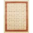 Gabbeh Lori Baft Hand-Knotted Wool Brown/Beige Area Rug