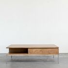 Rayna Coffee Table Color: Light Walnut