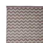 Hand Woven Pale Lilac Area Rug Rug Size: 5' x 8'