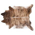 Brindle Hand Woven Cowhide Black/Brown Area Rug Rug Size: 7' x 6'