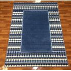 Istanbul Blue Area Rug Rug Size: 7'10