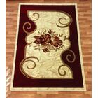 Rosa Red Area Rug Rug Size: 7'10