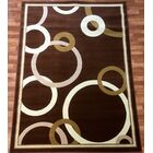 Elif/Passion Brown Area Rug Rug Size: 7'10'' x 10'2''