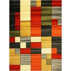 Elif/Passion Red Area Rug Rug Size: 7'10'' x 10'2''