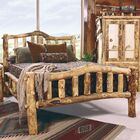 Aspen Heirloom Snowload II Platform Bed Size: Twin, Color: Beeswax / Linseed Oil
