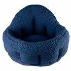 Kutcher Cuddler Bolster Color: Blue