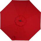 Patio Umbrella Covers Color: Jockey Red