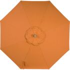 Centeno Double Pulley 9' Market Sunbrella Umbrella Frame Color: Black Sapphire, Fabric Color: Tuscan