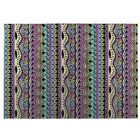Color Dance Purple Indoor/Outdoor Doormat Mat Size: Rectangle 8' x 10'