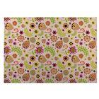 Playland Pink/Green Indoor/Outdoor Doormat Mat Size: Rectangle 5' x 7'