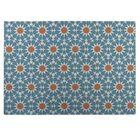 Blue/Orange Indoor/Outdoor Doormat Mat Size: Rectangle 5' x 7'