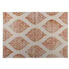 Fortney Orange Indoor/Outdoor Doormat Size: Rectangle 8' x 10'