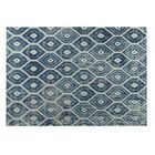 Denim Indoor/Outdoor Doormat Mat Size: Square 8'