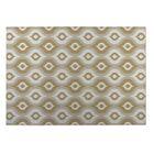 Namaste Tan Indoor/Outdoor Doormat Mat Size: Rectangle 5' x 7'