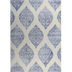 Fortney Beige/Blue Indoor/Outdoor Doormat Rug Size: Square 8'