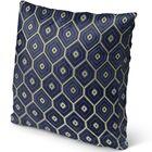 Honey Comb Burlap Indoor/Outdoor Throw Pillow Size: 26