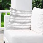 Sagamore Burlap Indoor/Outdoor Pillow Size: 26