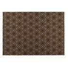 Chocolate Indoor/Outdoor Doormat Mat Size: Rectangle 5' x 7'